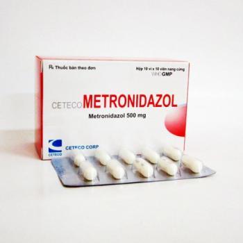 thuoc dat phu khoa Metronidazol